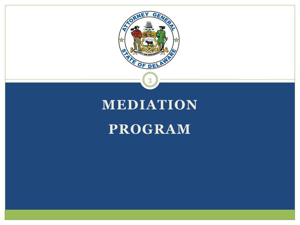 MEDIATION PROGRAM 3