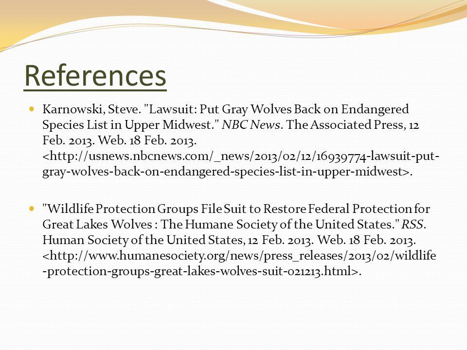 References Karnowski, Steve.