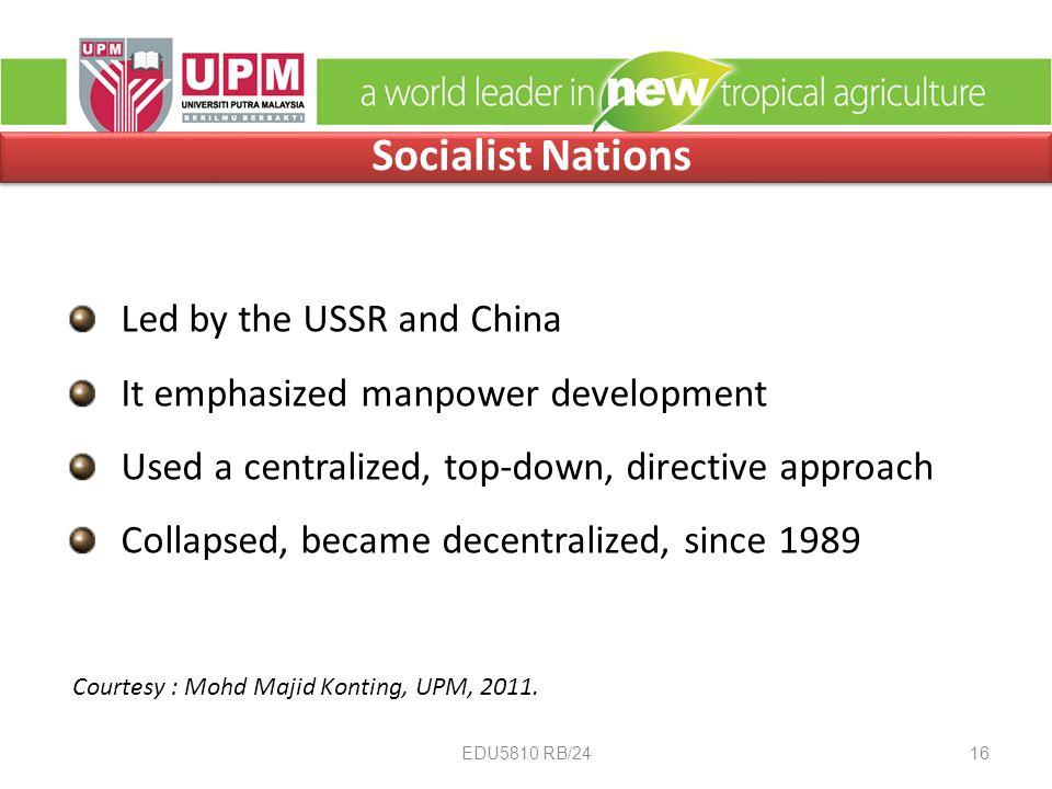 Courtesy : Mohd Majid Konting, UPM, 2011.