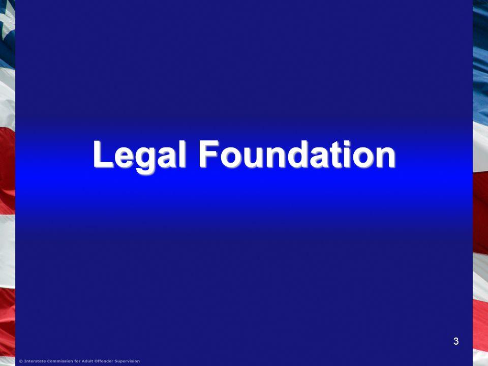 3 Legal Foundation