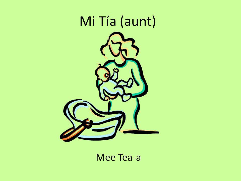 Mi Tía (aunt) Mee Tea-a