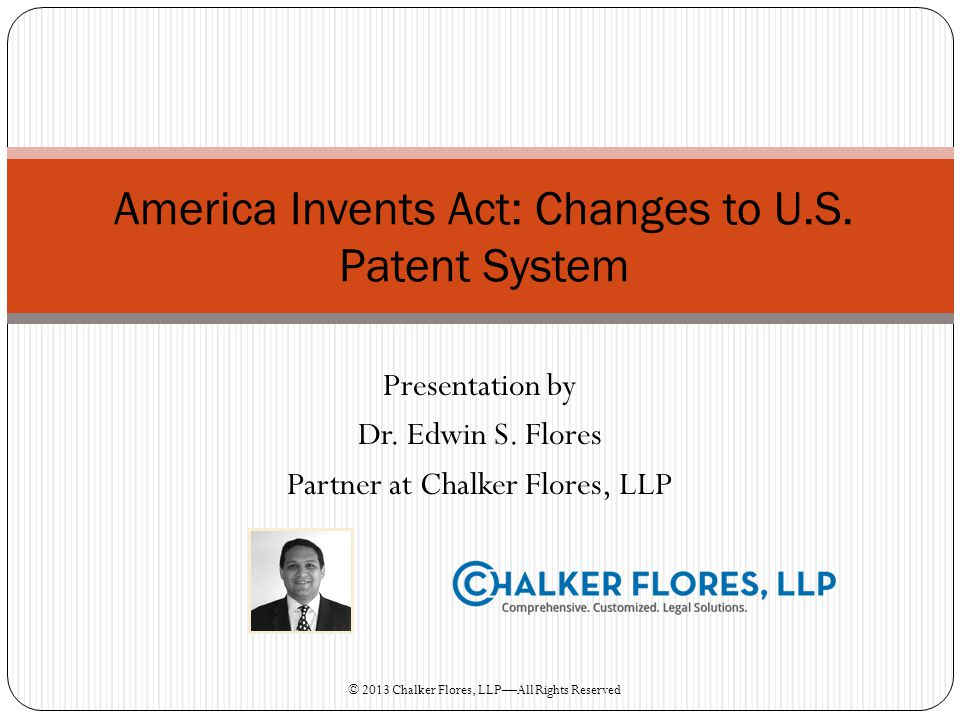 Patents U.S.