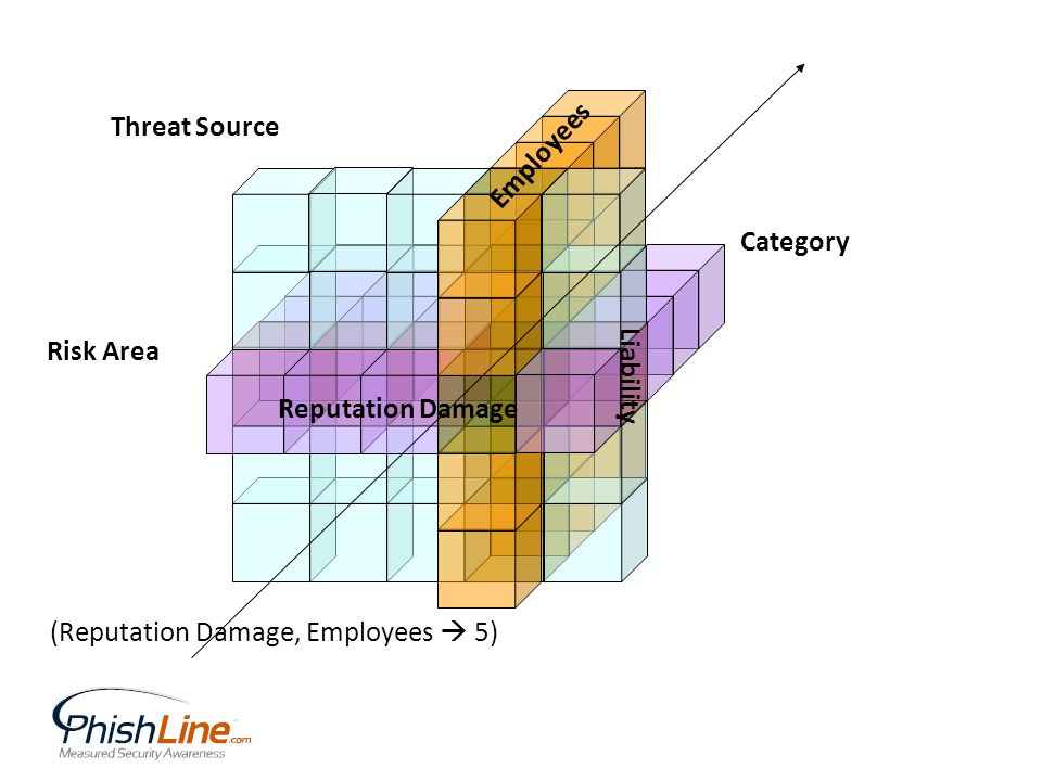 Risk Area Threat Source Category Reputation Damage Employees Liability (Reputation Damage, Employees 5)
