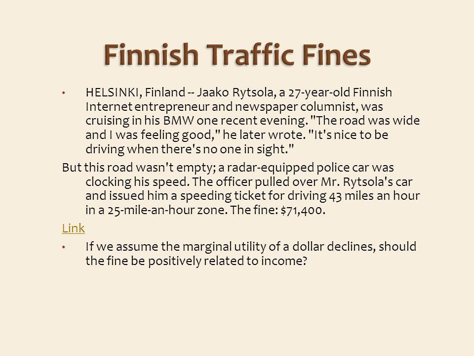 HELSINKI, Finland -- Jaako Rytsola, a 27-year-old Finnish Internet entrepreneur and newspaper columnist, was cruising in his BMW one recent evening.