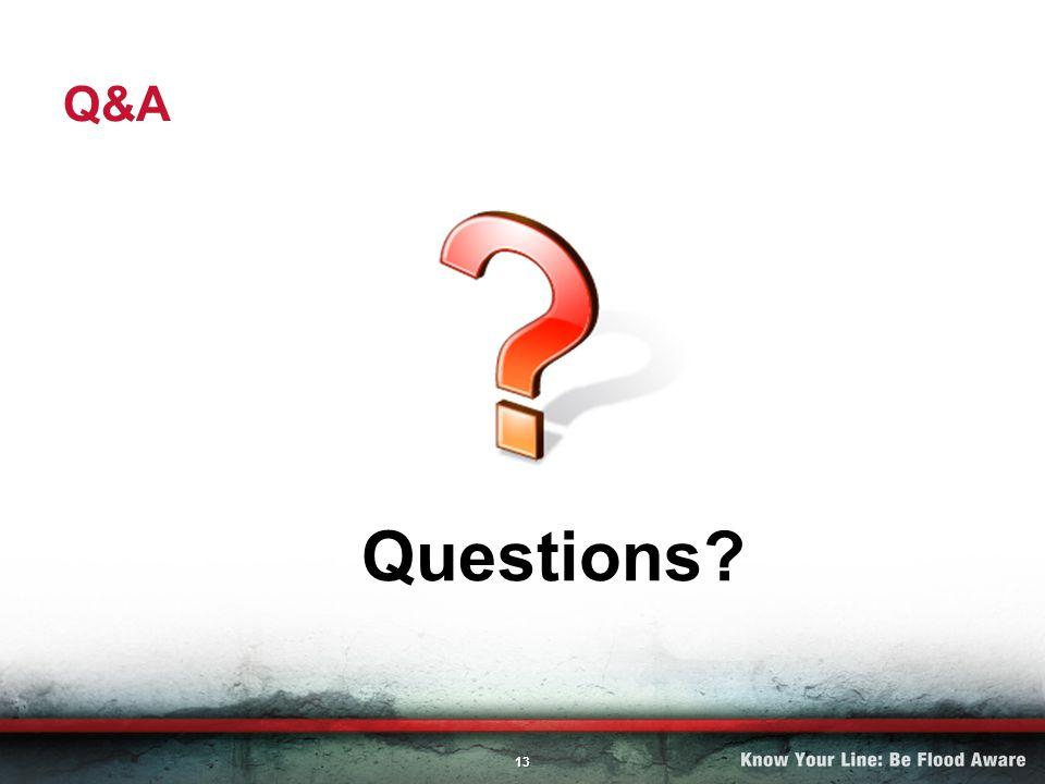 13 Q&A Questions