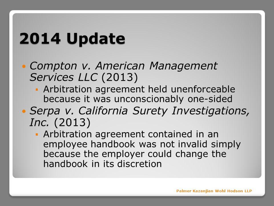 2014 Update Compton v.