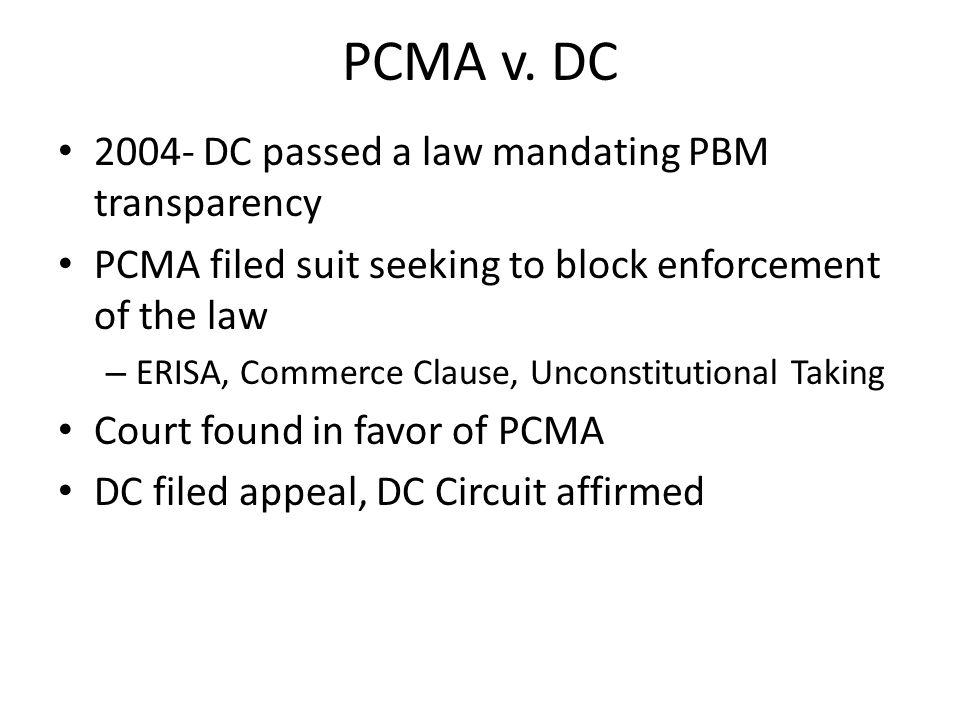 PCMA v.