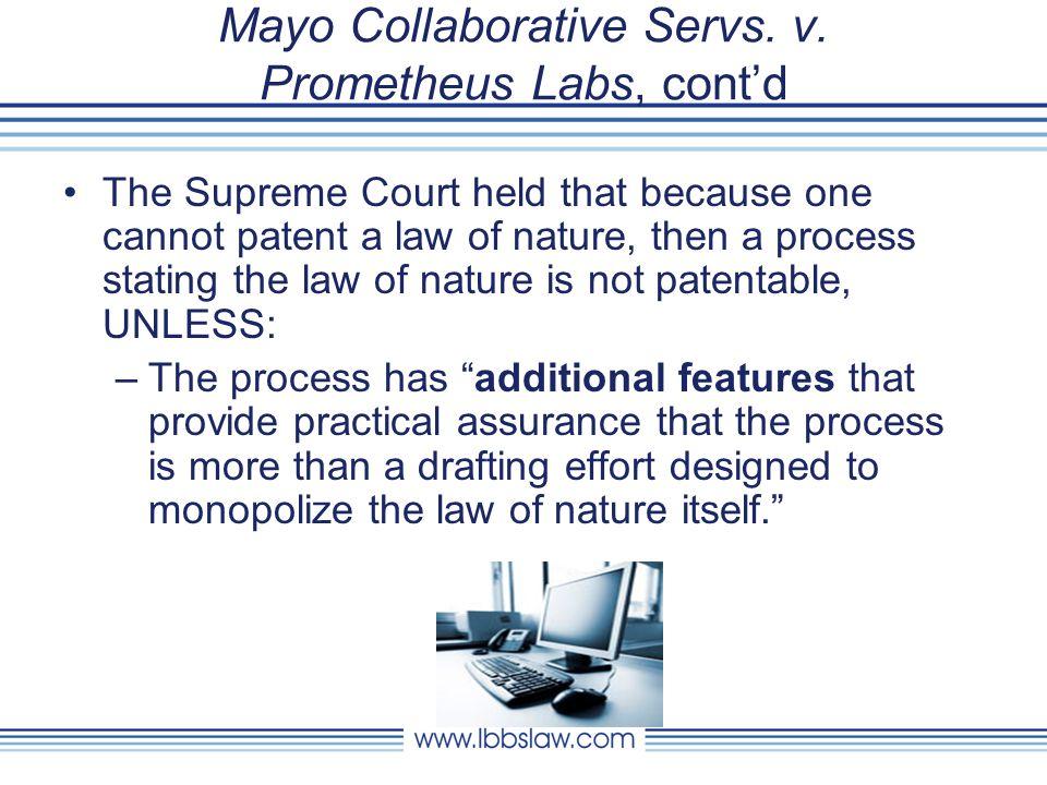 Mayo Collaborative Servs. v.
