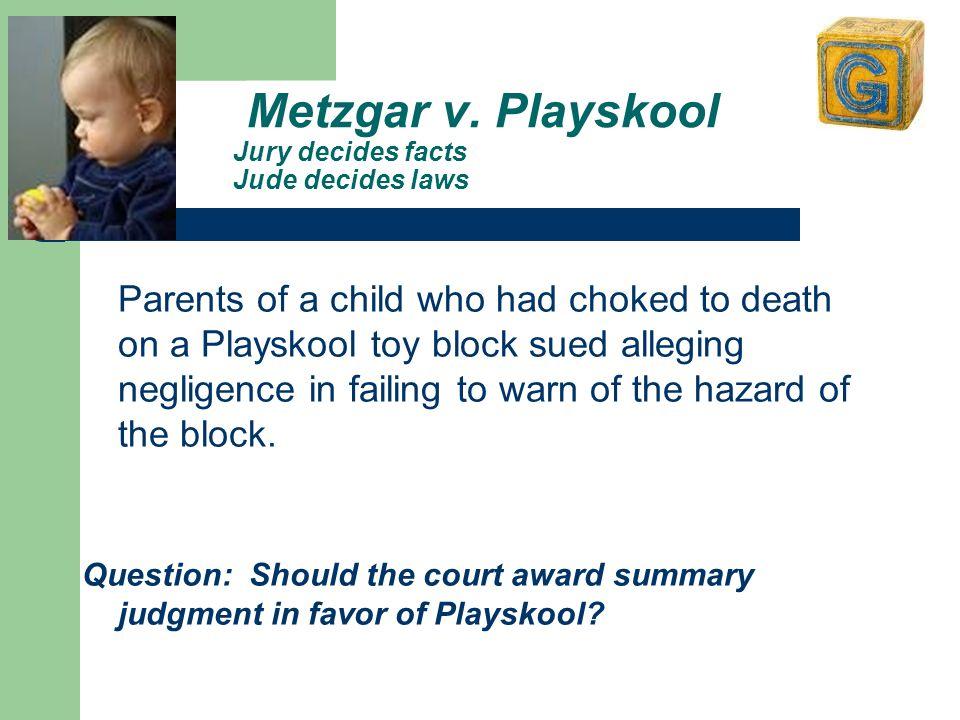 Metzgar v.