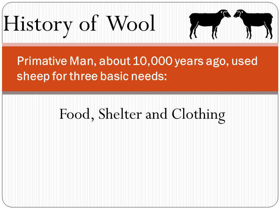 History of Wool King George III of England made trading wool with whom a punishable offense.