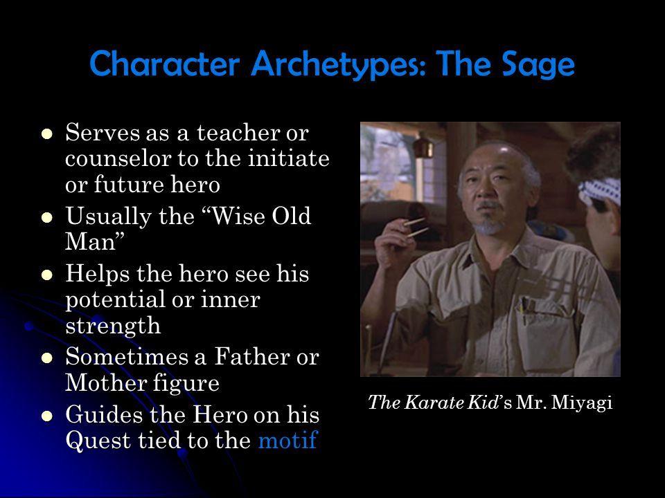 Character Archetypes: The Orphan Young heroes who must endure training Young heroes who must endure training The Orphan can ultimately become a good character or a bad one The Orphan can ultimately become a good character or a bad one Must complete some type of an internal journey to determine their ultimate place in the world Must complete some type of an internal journey to determine their ultimate place in the world They are Innocent and often wear white (sometimes only temporarily) They are Innocent and often wear white (sometimes only temporarily) In order to become a Jedi Knight, Luke Skywalker must come to terms with who he is and choose to be a Jedi or be tempted by the Dark side of the Force