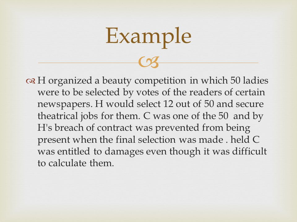 H organized a beauty competition in which 50 ladies were to be selected by votes of the readers of certain newspapers. H would select 12 out of 50 and