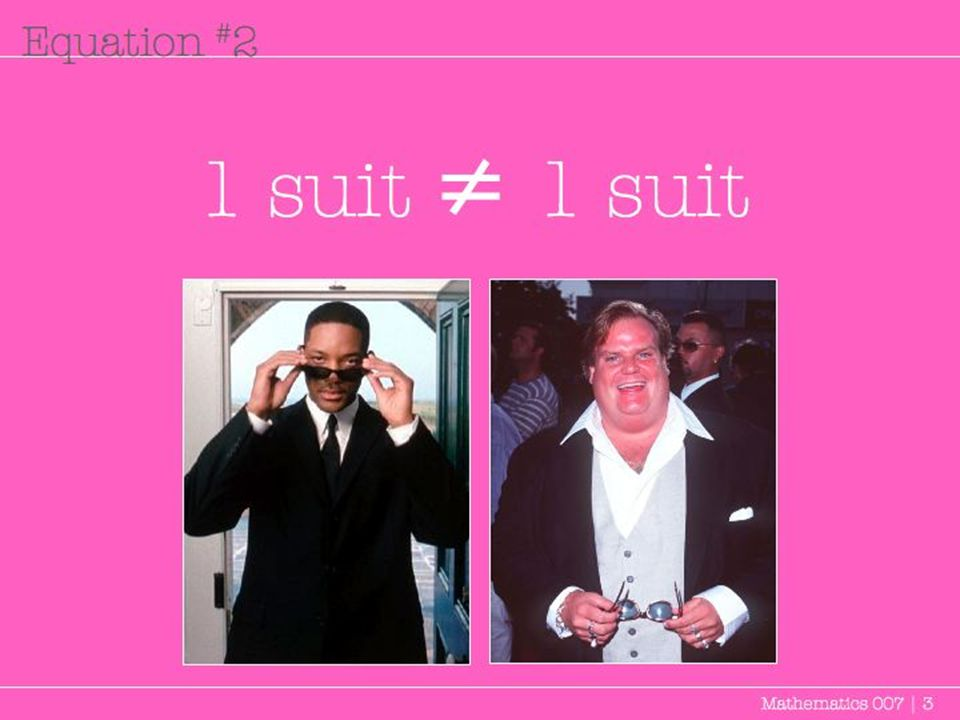 1 suit Mathematics 007 | 3 Equation # 2