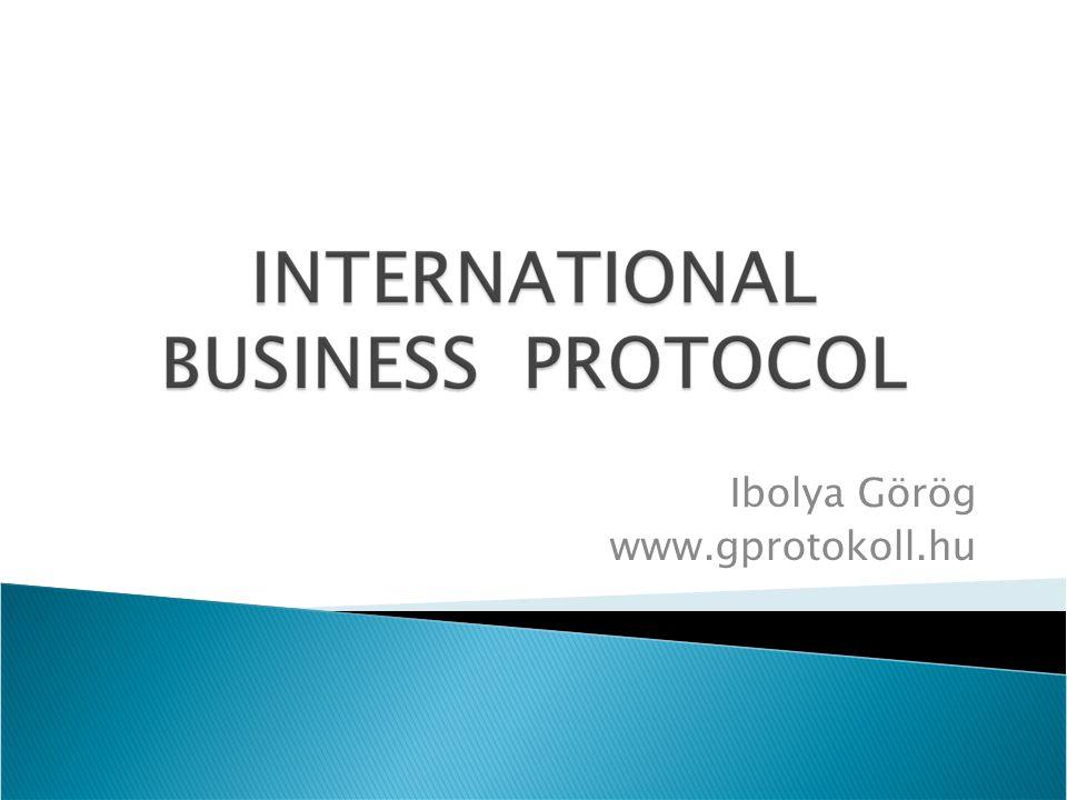 Ibolya Görög www.gprotokoll.hu