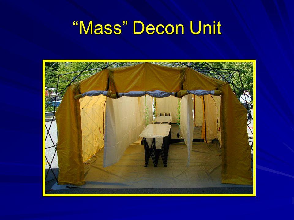 Mass Decon Unit