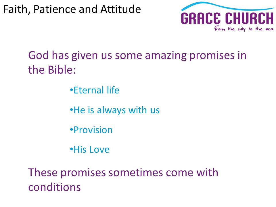 Steve Petch Sunday 10 th June 2012 Faith, Patience and Attitude John 4 v 43 – 5 v 18
