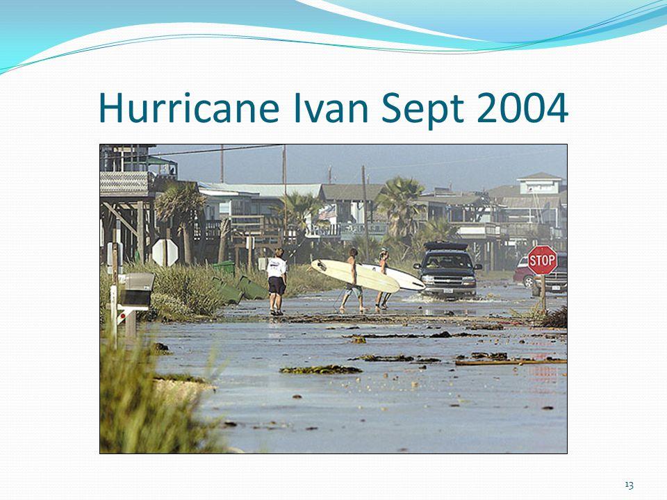 Hurricane Ivan Sept 2004 13