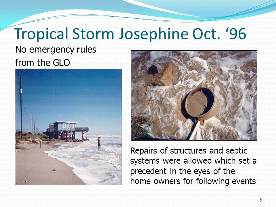Tropical Storm Josephine Oct.