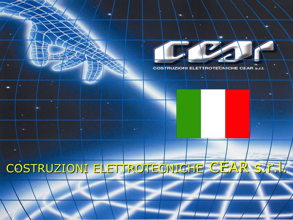 COSTRUZIONI ELETTROTECNICHE CEAR s.r.l.