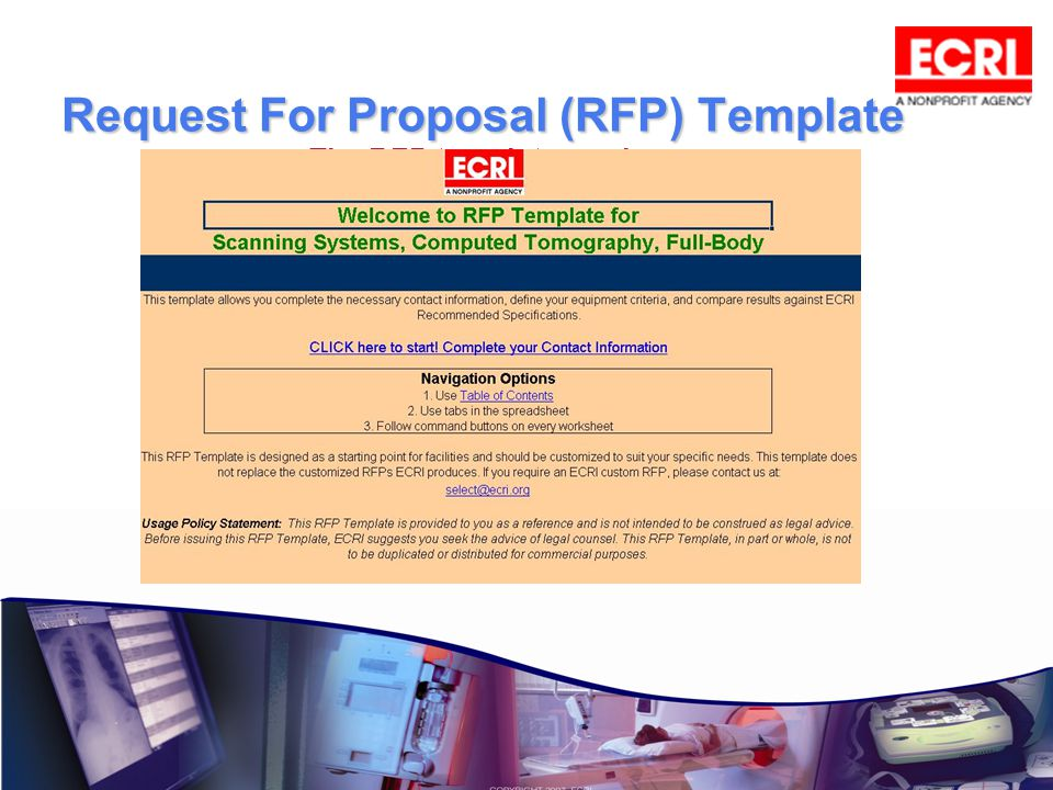 Request For Proposal (RFP) Template Request For Proposal (RFP) Template The RFP template can be customized to suit your needs.
