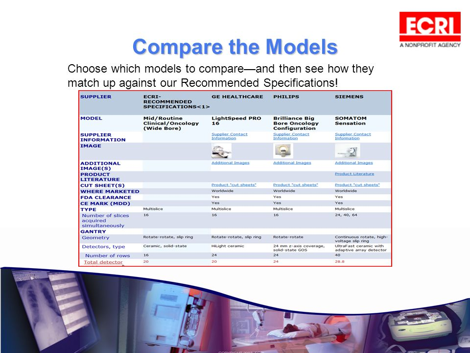 Compare the Models Choose which models to compareand then see how they match up against our Recommended Specifications!