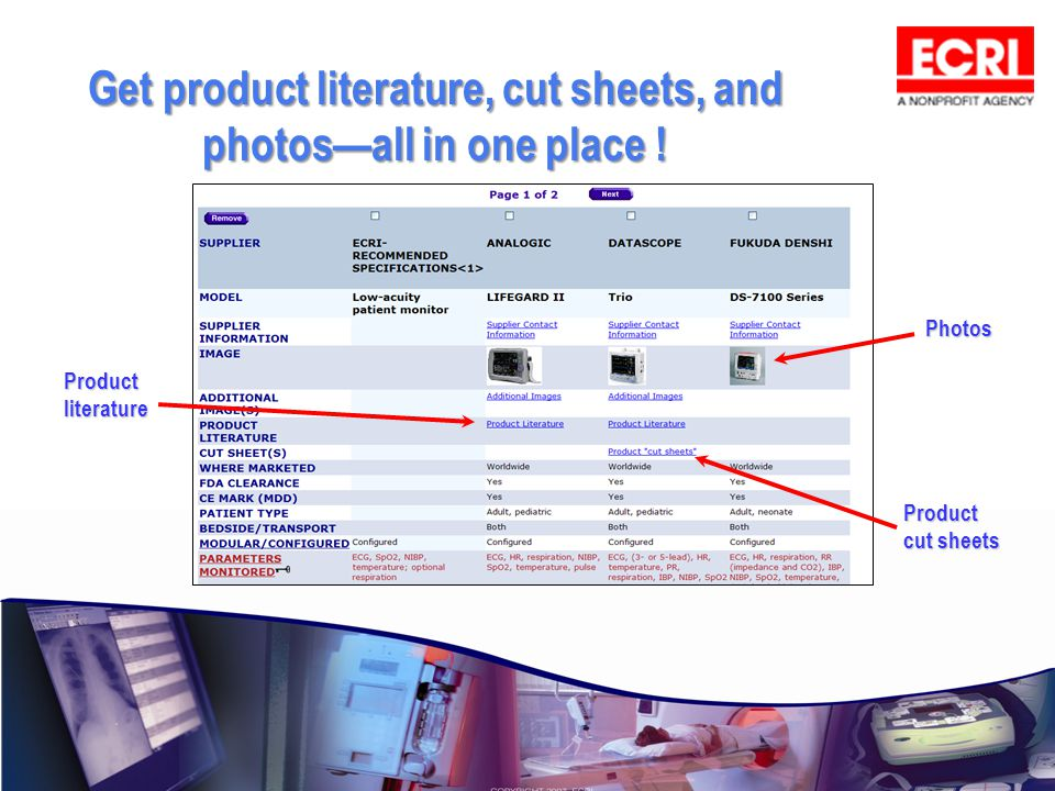 Get product literature, cut sheets, and photosall in one place ! Photos Product literature Product cut sheets