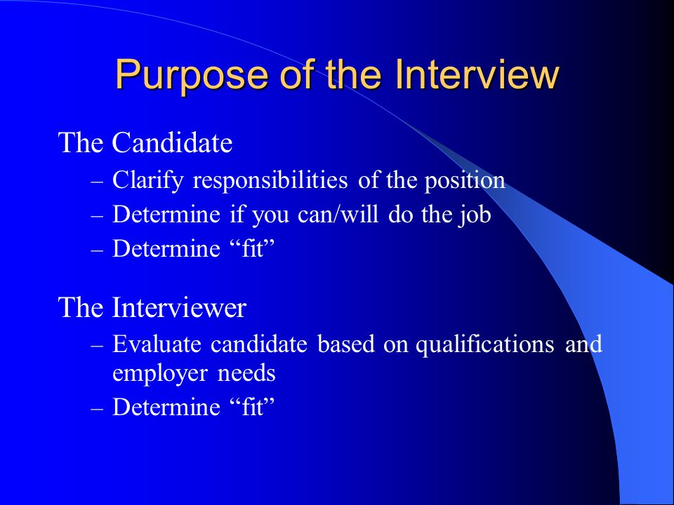 Questions to Ask in an Interview What will my duties entail.
