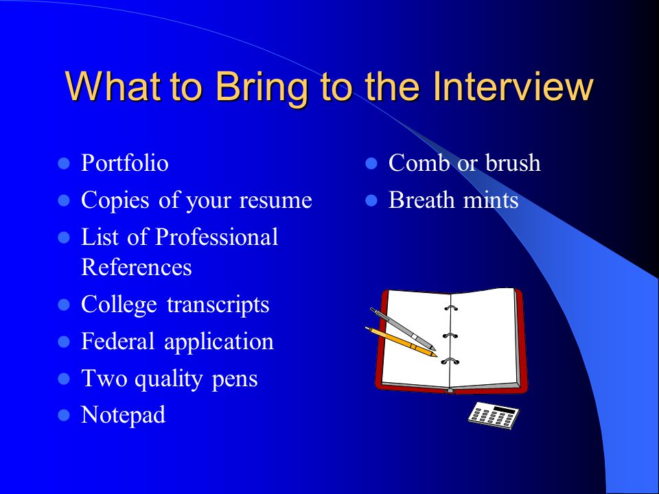 TOPICS FOR DISCUSSION Understanding The Process The Interview The Offer The Negotiation Process