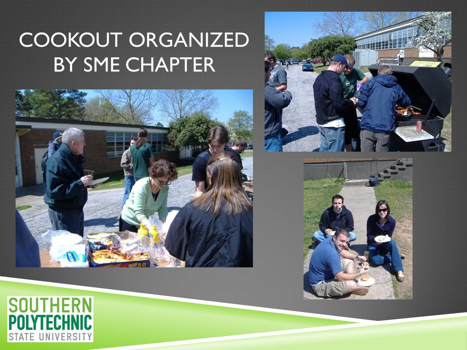 COOKOUT ORGANIZED BY SME CHAPTER