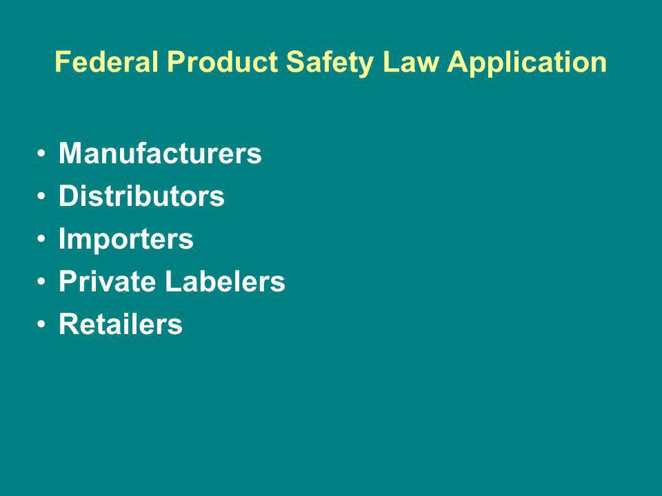 New CPSIA State AG Powers Consumer Product Safety Improvement Act of 2008 (CPSIA) Enacted August 14, 2008 AG Powers at –Consumer Product Safety Act § 24 –15 U.S.C.