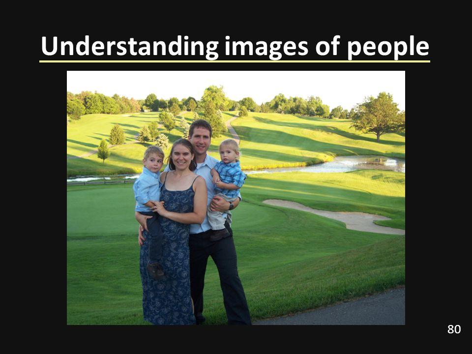 80 Understanding images of people