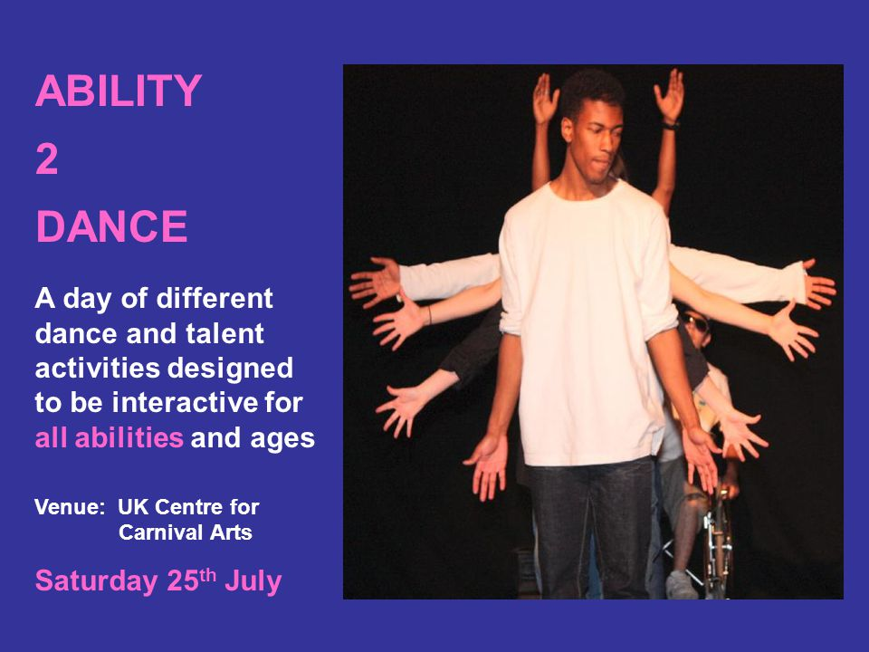 ABILITY 2 DANCE RAMPAGE RIBBON DANCE WORKSHOP AND PERFORMANCES