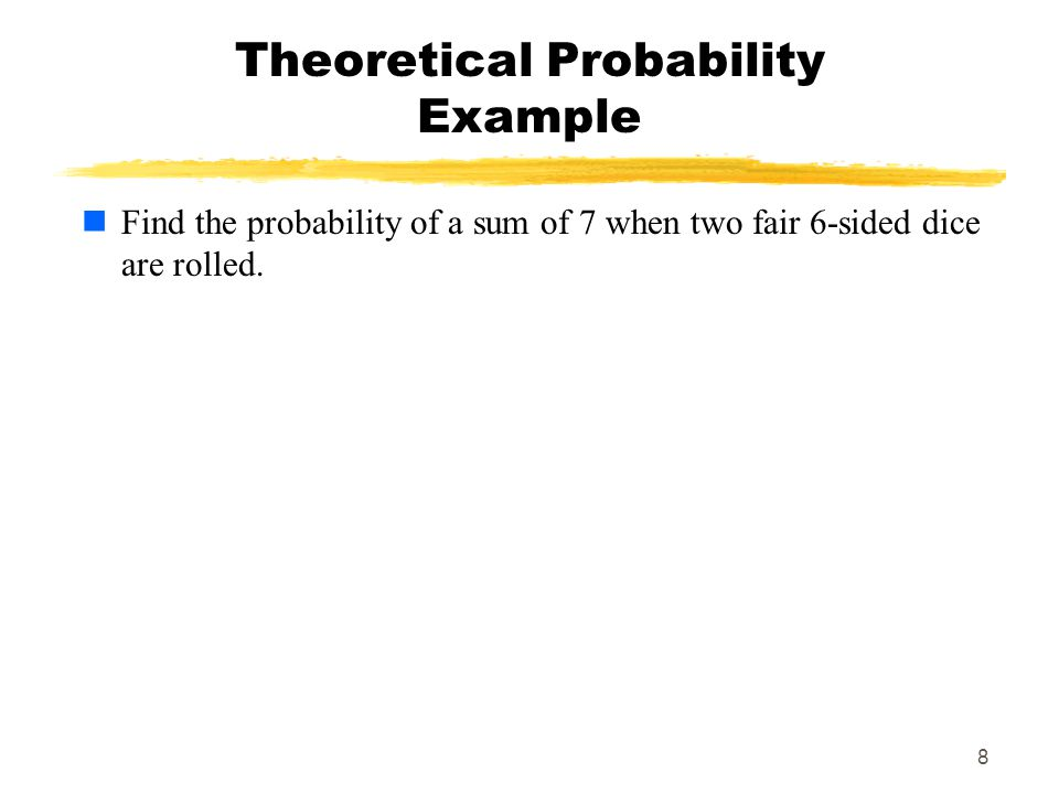 9 Some Properties of Probability The first property states that the probability of any event will always be a number BETWEEN 0 AND 1 (inclusive).