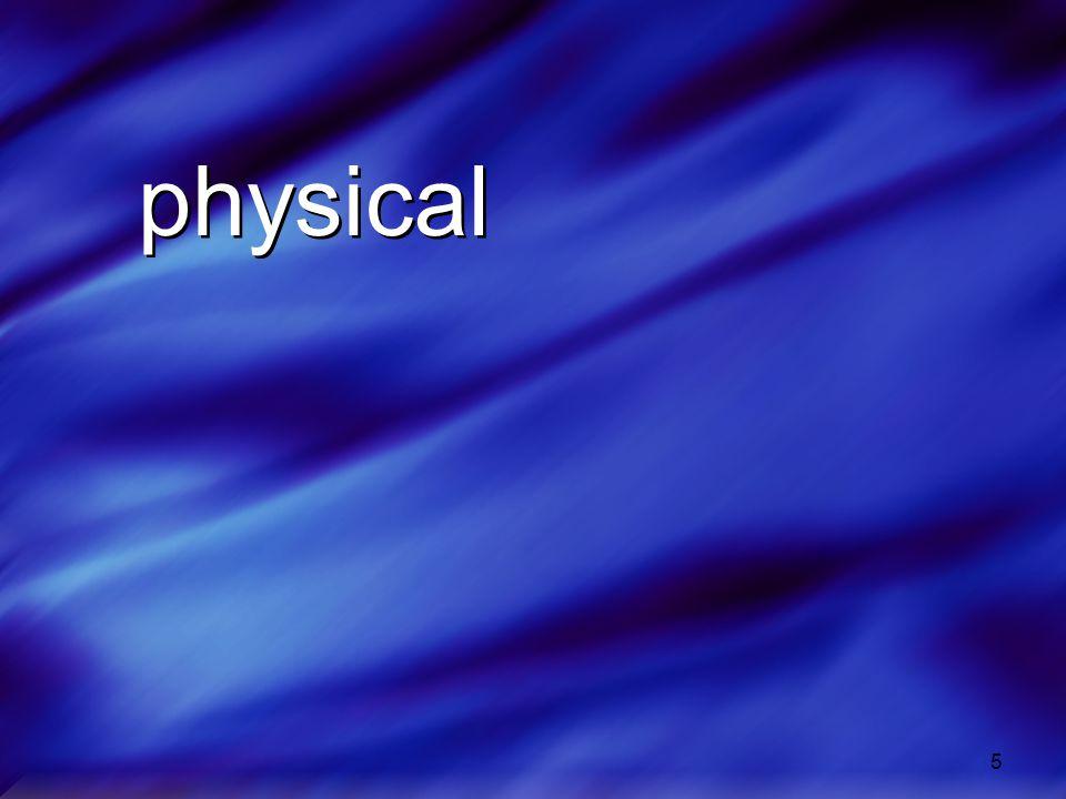 5 physical physical