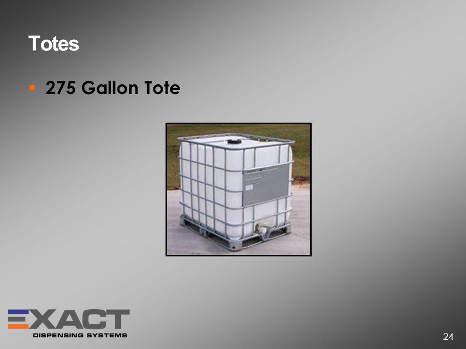 Totes 275 Gallon Tote 24