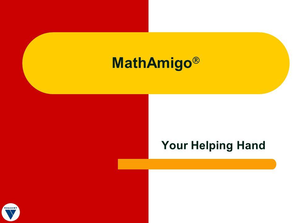MathAmigo Your Helping Hand