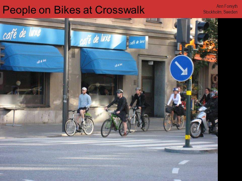 www.annforsyth.net Man in Suit Biking Ann Forsyth Stockholm, Sweden