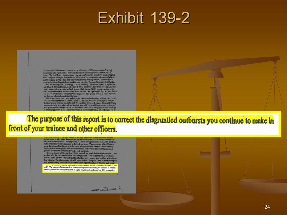 24 Exhibit 139-2