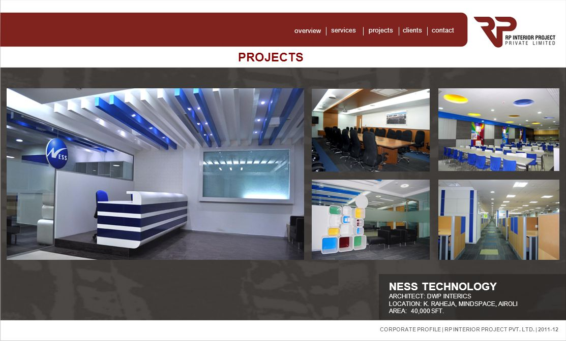 Corporate Profile | RP Interior Project Pvt. Ltd.
