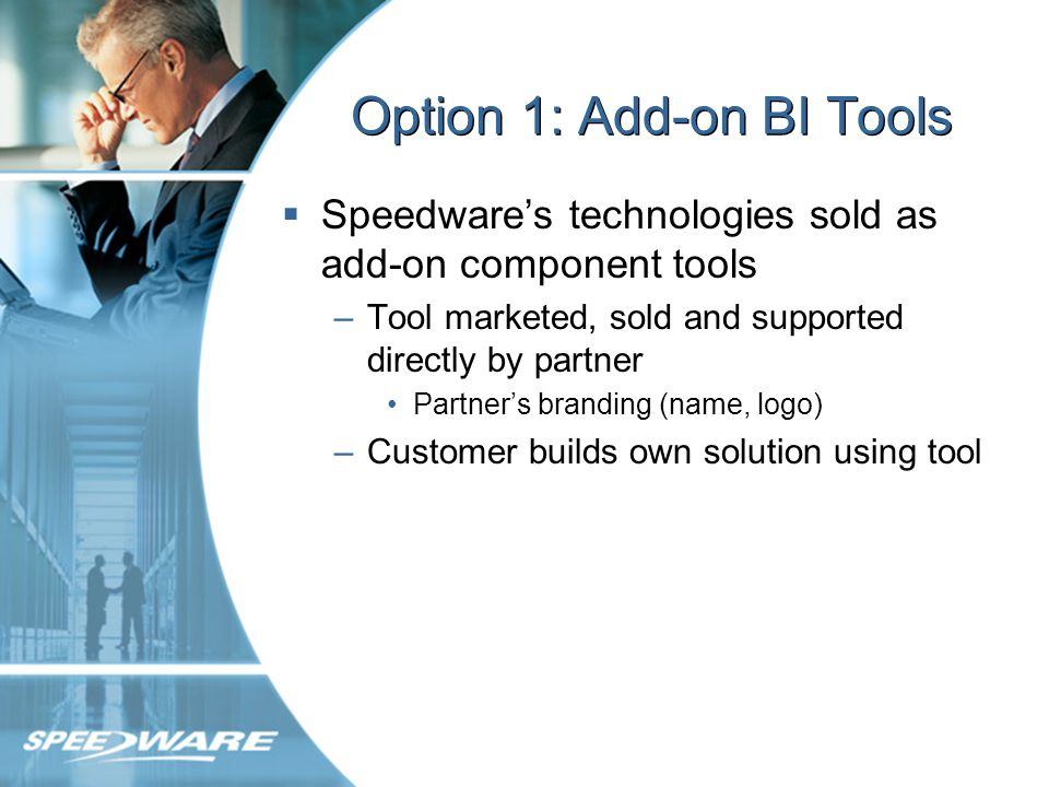 Why Partner with Speedware.