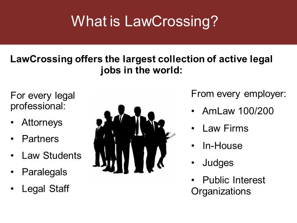 Why LawCrossing.