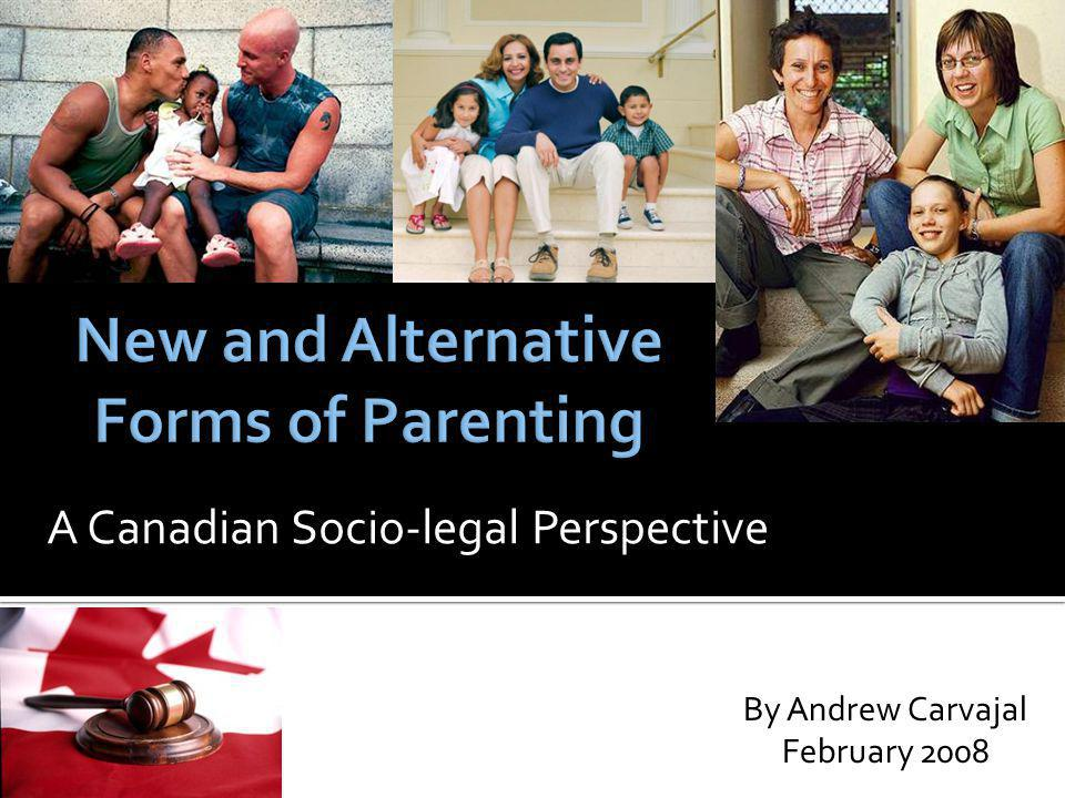 A Canadian Socio-legal Perspective By Andrew Carvajal February 2008