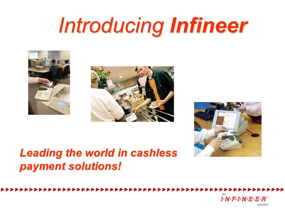 Welcome… This presentation will give you a short history of Infineer and introduce you to the products and services we offer.