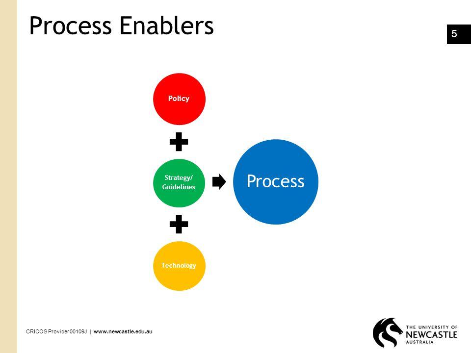 CRICOS Provider 00109J | www.newcastle.edu.au 16 Process Improvement Framework DMAIC- Define, Measure, Analyse, Implement, Control DMADV- Define, Measure, Analyse, Design, Verify 3i- Innovate, Improve, Implement