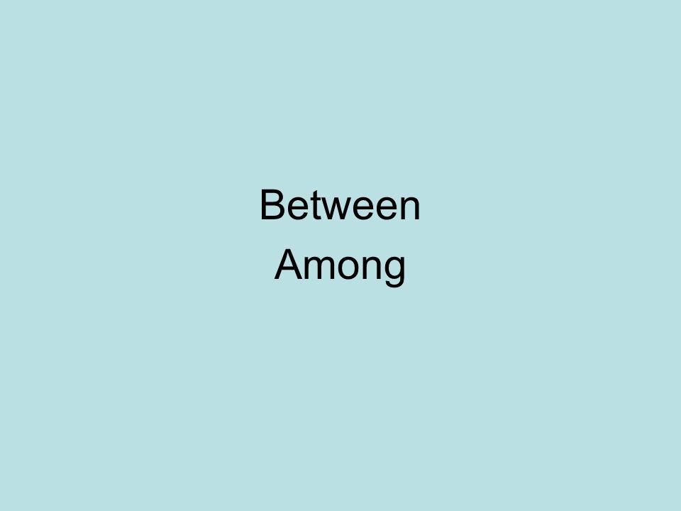 Between Among