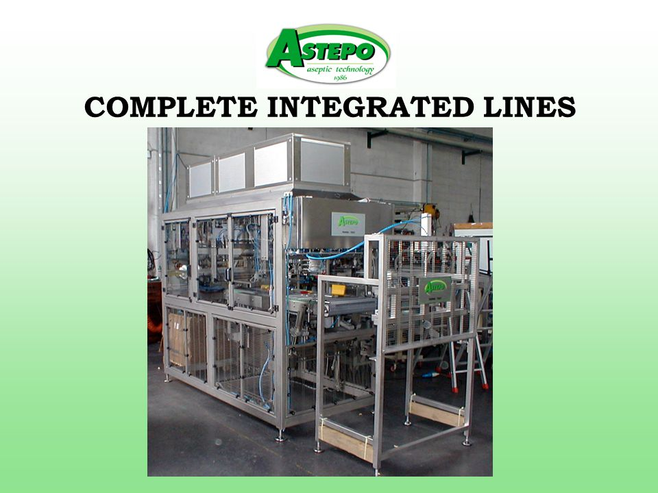 COMPLETE INTEGRATED LINES