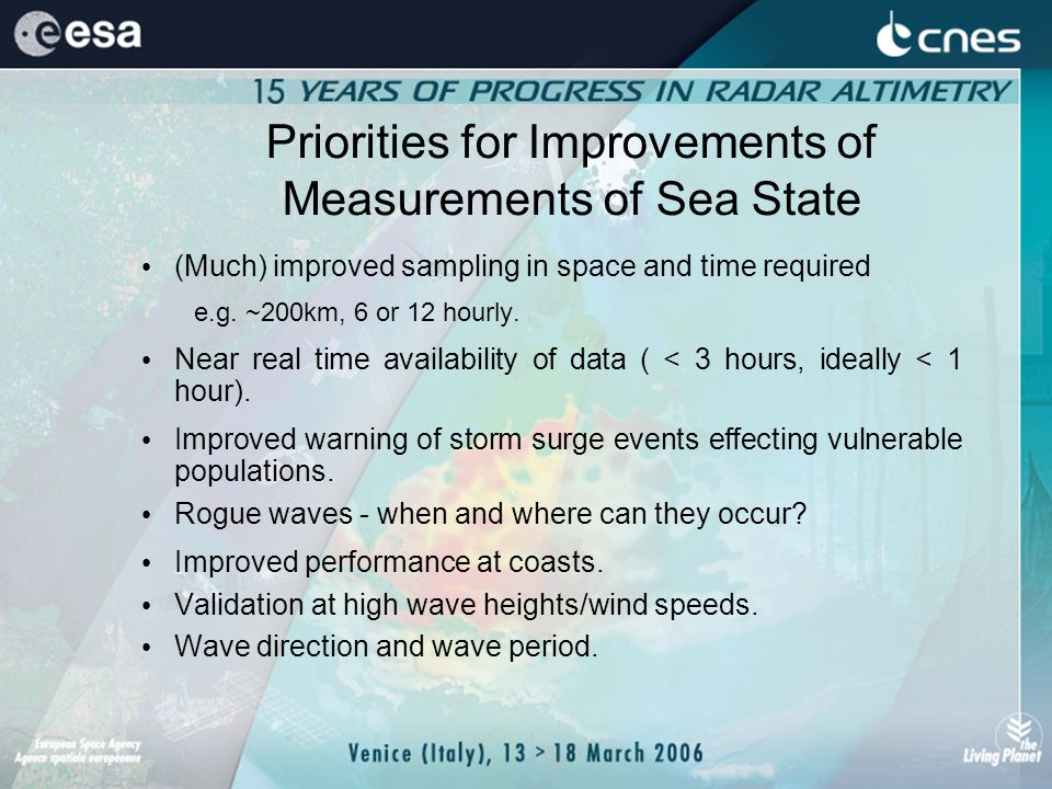 How can we improve altimeters.Increase Sampling Frequency – Swath Measurements.