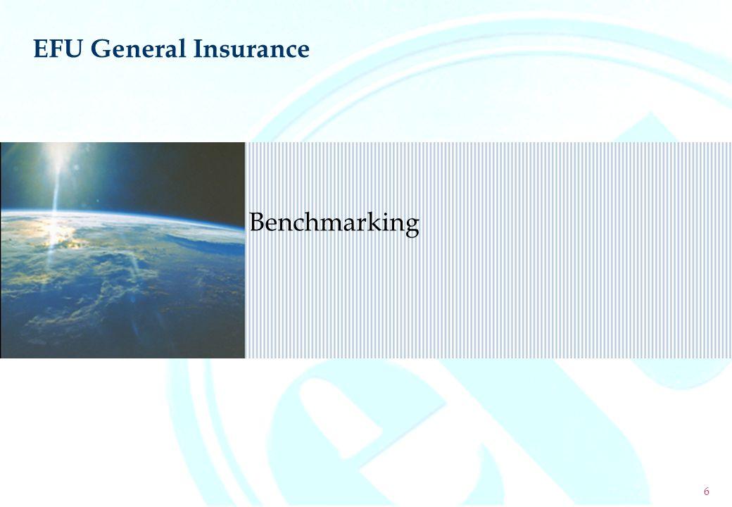 Benchmarking EFU General Insurance 6