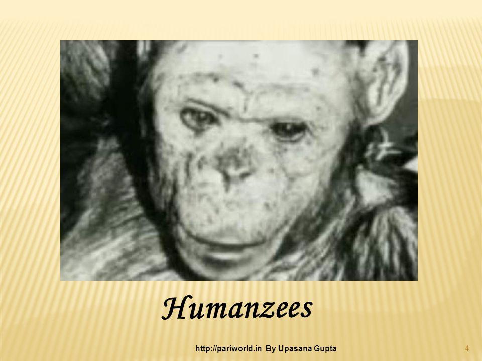 Humanzees 4 http://pariworld.in By Upasana Gupta