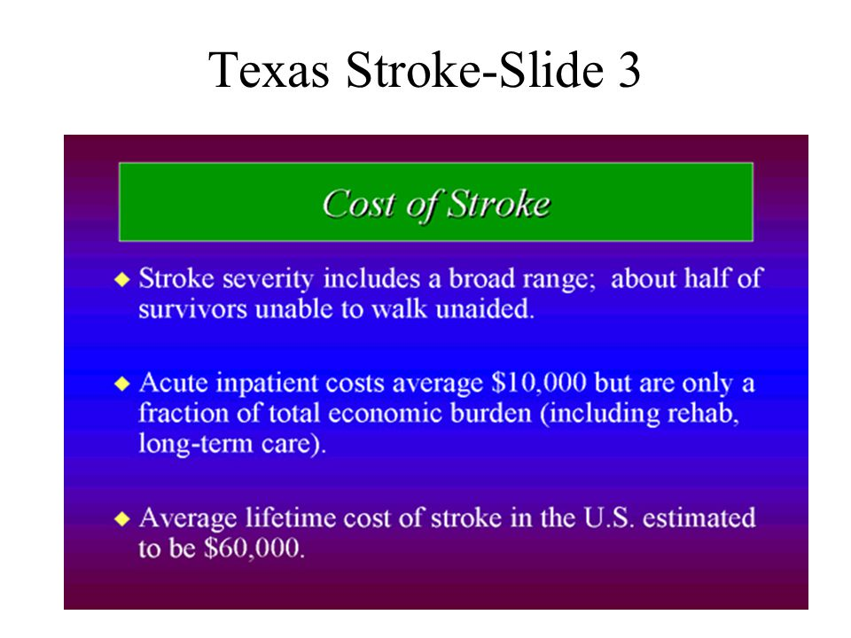 Texas Stroke-Slide 3